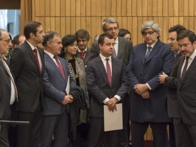 Sessão solene de Comemoração dos 110 anos da Linha do Vouga - troço Espinho - Oliveira de Azeméis
