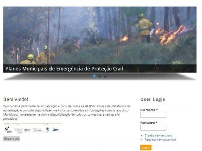 """""""Projecto Integrado, de Prevenção e Gestão de riscos naturais e tecnológicos para o Entre Douro e Vouga"""""""